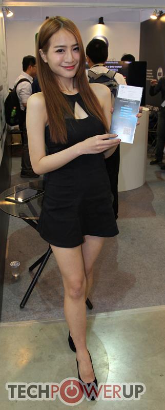 台北电脑展又一大波妹子来袭 130张ShowGirl美图一网打尽的照片 - 126