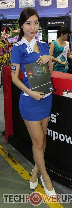 台北电脑展又一大波妹子来袭 130张ShowGirl美图一网打尽的照片 - 131