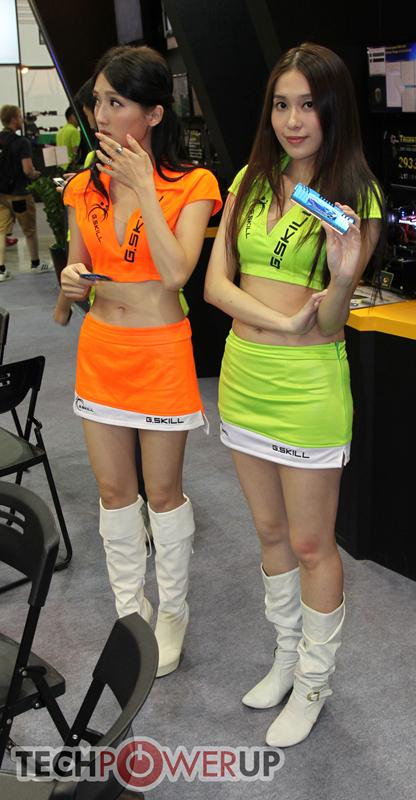 台北电脑展又一大波妹子来袭 130张ShowGirl美图一网打尽的照片 - 16