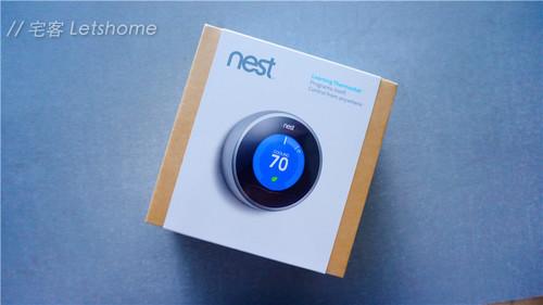 真机出现啦!Nest恒温控制器开箱图赏