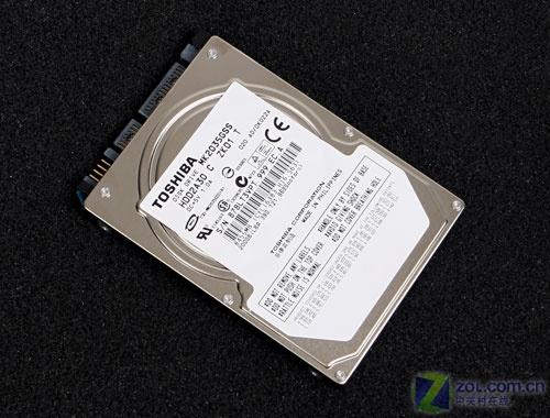 单碟100GB 东芝200GB笔记本硬盘测试