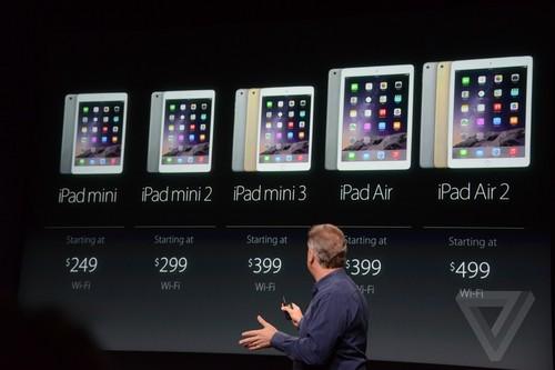 苹果疯狂发布iPad Air2/mini3/5K屏iMac