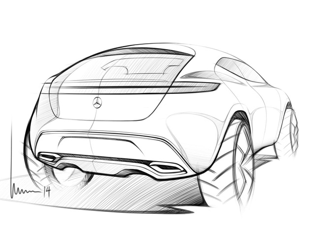 超前卫设计 奔驰发布g-code概念车图片