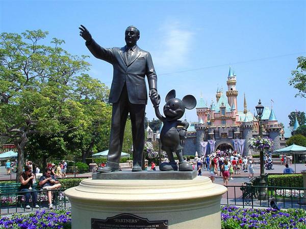 第1名——加州安纳海姆迪士尼乐园
