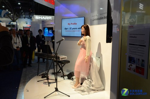 万年宅的福音 会说话的日本女机器人