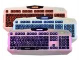 新盟曼巴狂蛇K29三色背光游戏键盘