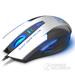 豹勒(Boblen)S3电脑有线专业游戏鼠标 LOL/CF笔记本电竞光电鼠标无声网吧鼠标 6D终极版-象牙白-有声