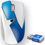 让手机免费上网的鼠标,带360随身wifi的无线鼠标(第二代,网速好,鼠标不卡) 浅蓝色 2件装