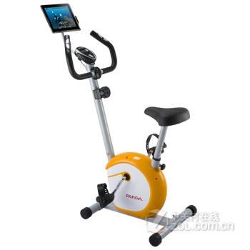 【Fitmaster健身车家用静音磁控ipad支架全家