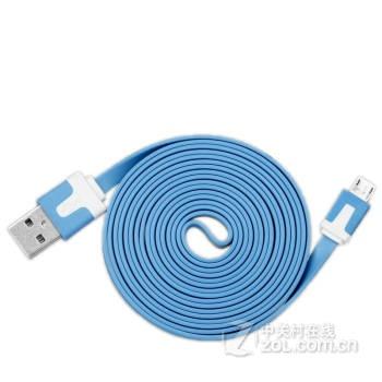 卡姆昂 micro面条充电数据线 适用三星s6小米3华为酷派中兴htc联想
