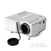 优丽可(UNIC)UC28家用LED投影仪 迷你便携微型投影仪可U盘电脑手机投影 白色 套餐三