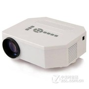 优丽可(UNIC)UC30 家用投影仪LED高清微型投影机 便携式微投短焦 白色 送VGA 迷你三脚架 高清线 官方标配