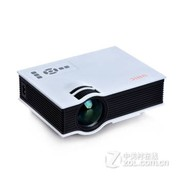 优丽可(UNIC)2015新款UC40家用LED微型投影仪连电脑U盘高清迷你便携投影机 白色+VGA转换器(送VGA线+高清线)