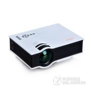 优丽可(UNIC)2015新款UC40家用LED微型投影仪连电脑U盘高清迷你便携投影机 白色(送高清线) 套餐三