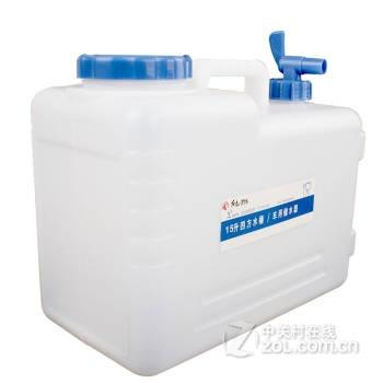 户外饮用水水桶 四方水桶