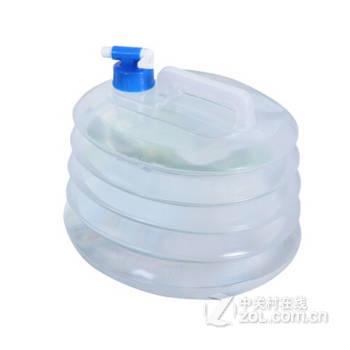 折叠伸缩水桶容器10l