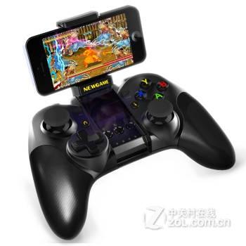 南慕新游游戏手柄 摇杆 n1无线蓝牙手机苹果ipad平板通用手柄 经典黑