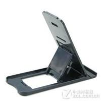 【Z1角度折叠手机三孔卡槽直播支架便携黑色安卓调节源播放软件图片