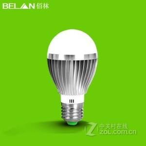 BELAN  E27螺口5瓦银色 暖白
