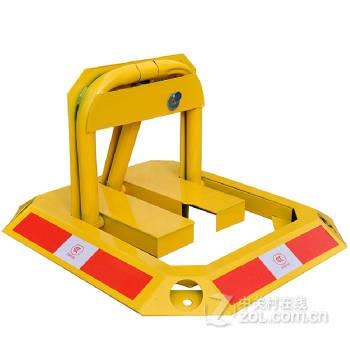 趣行 加厚加重停车位锁 防撞汽车占位锁 车库停车位地锁 重型八角o型