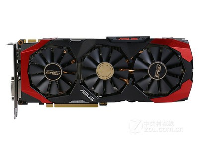 华硕(ASUS)飓风版GTX960-3OC-4GD5-STORM 1291MHz/7010MHz 4GB/128bit DDR5 PCI-E 3.0 显卡