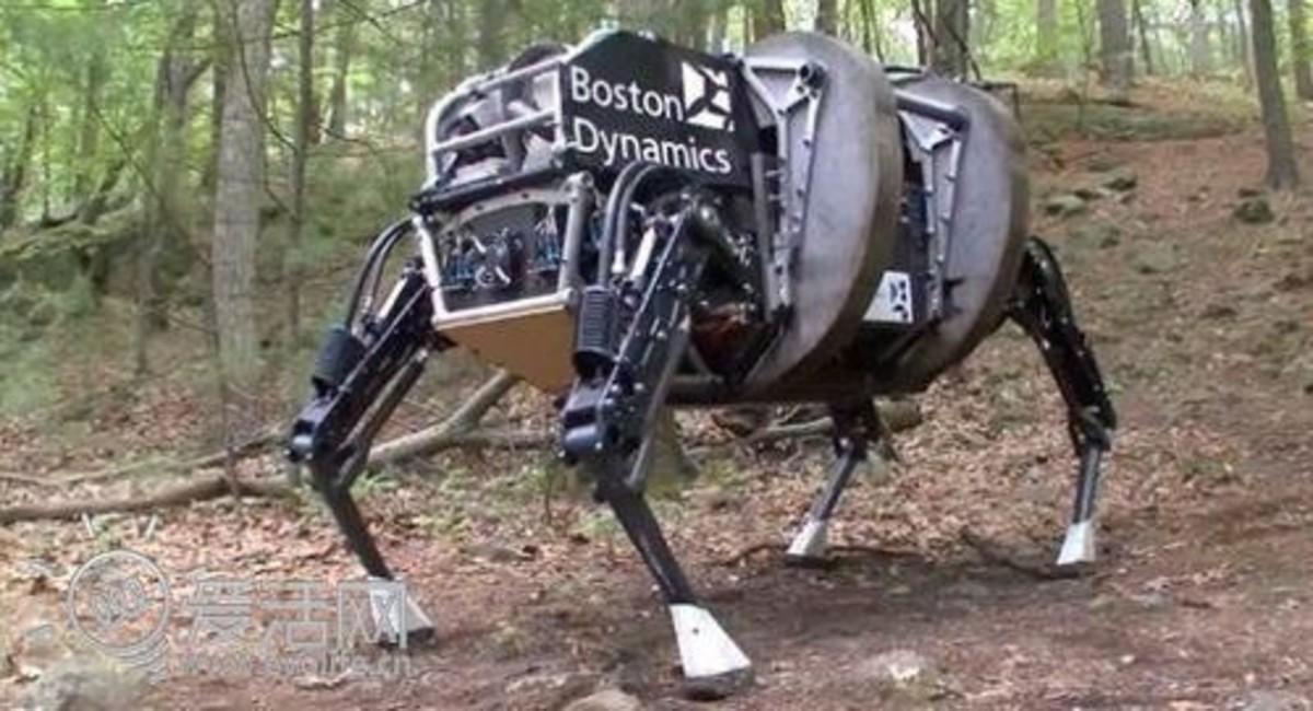 【高清图】人造动物?仿生机器人能够大显身手 图13