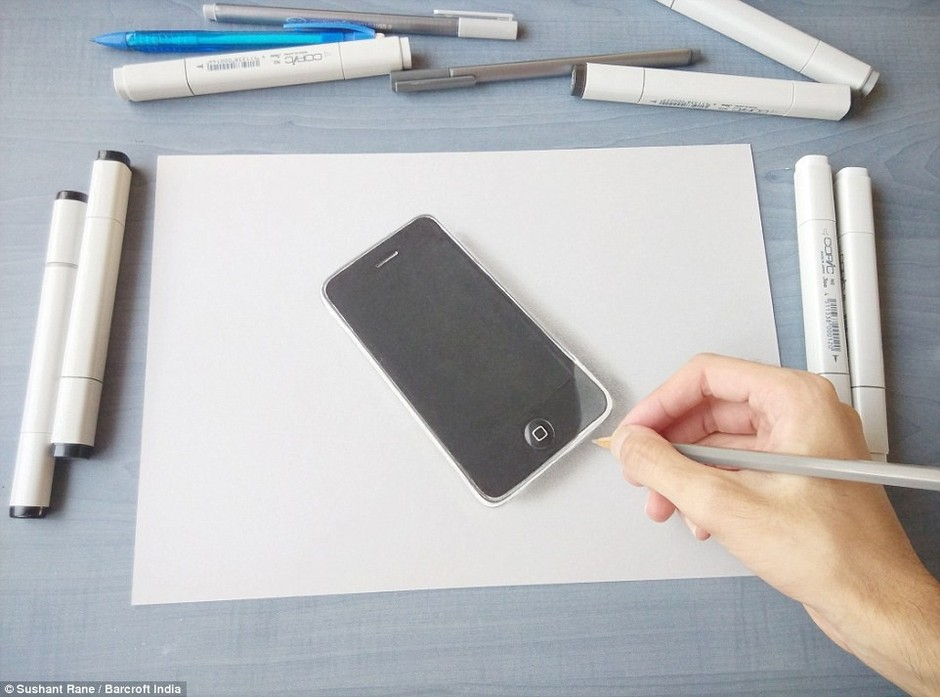 手绘学习用品图片
