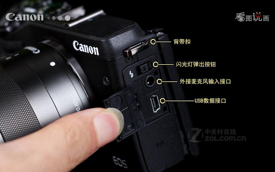 佳能eos m3套机(18-55mm)图片