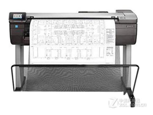 大幅面打印 HP T830五月报价34500元