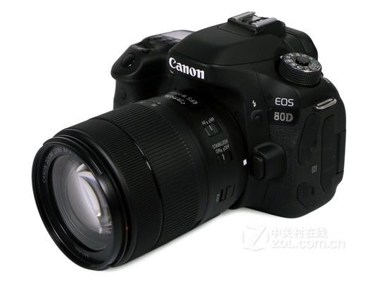 佳能80D套机(EF-S 18-135mm)广东7600元