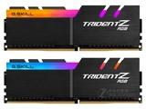 芝奇Trident Z RGB 16GB DDR4 3200(F4-3200C16D-16GTZR)