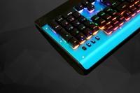 专为网咖设计 狼蛛机械战袍2代键盘图赏