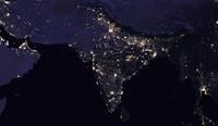 【图集】NASA发布最新地球夜景照片