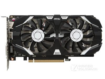 微星GeForce GTX 1050Ti 飙风 4G