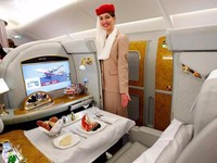 机票价格21万!揭秘阿联酋的奢华头等舱