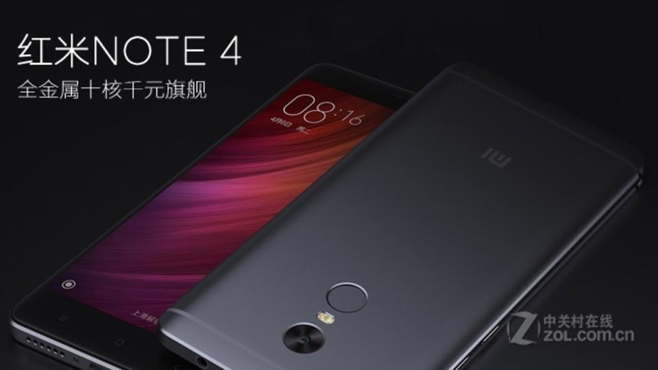 小米红米Note4手机特点 特性 ZOL中关村在线图片