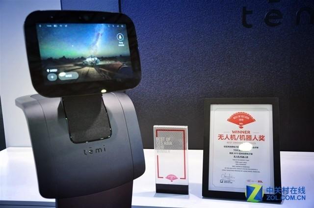 以色列Temi获CESA2019最佳无人机和机器人奖