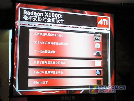 挑战芯视界 ATI X1000家族 发布会