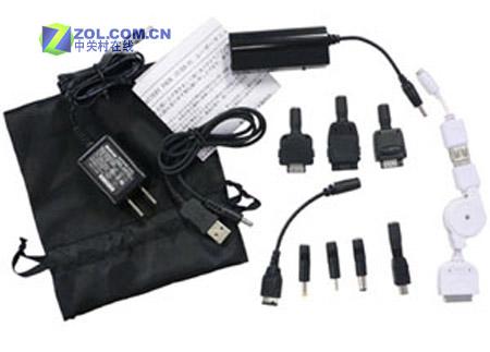一个万能充电器搞定手机/pda/mp3/psp