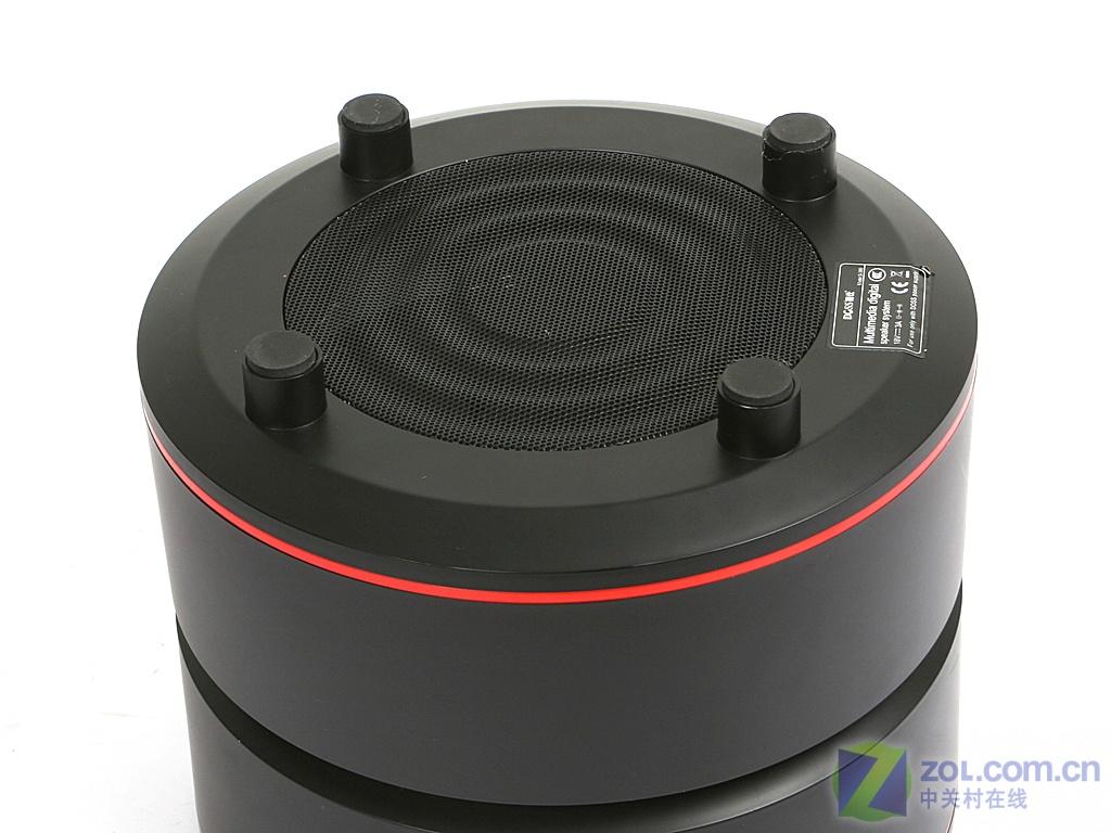 【高清图】 时尚自由大气!德仕s380圆柱音箱评测图6