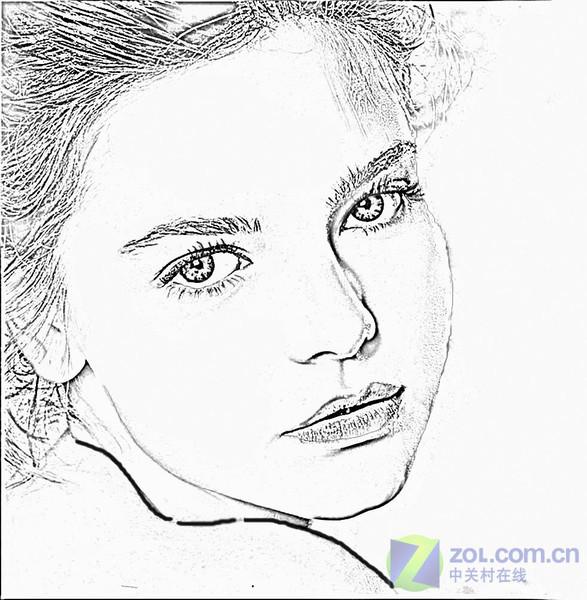 个性手绘简单做——photoshop的处理技巧 (5/5)