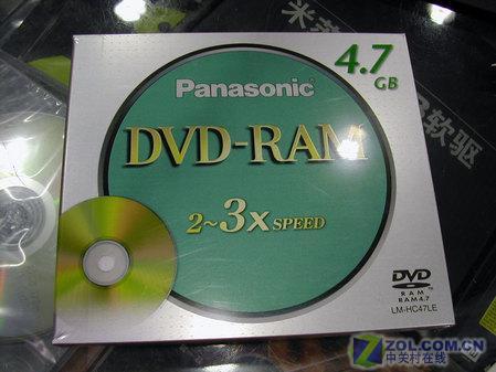 买一送一 松下DVD RAM 盘底价促销