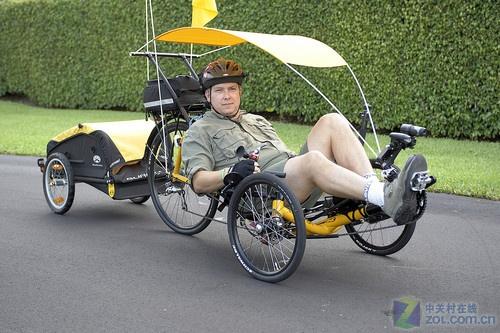 自行车环球旅行 家人用gps跟踪