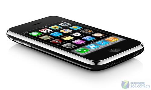 蘋果 iphone 3gs 黑色 外觀圖