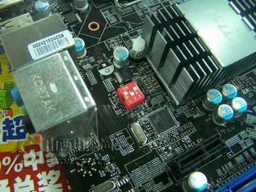 【高清图】 黑色pcb板 微星ddr3内存超频p43到货图5