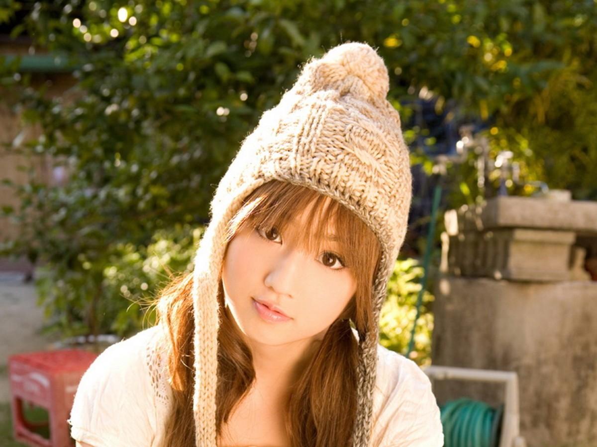【高清图】超清纯可爱!日本女星小仓优子大头照 图11