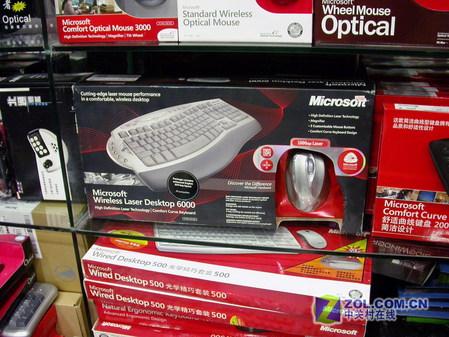 968元! 微软无线套装惊雷版6000到货