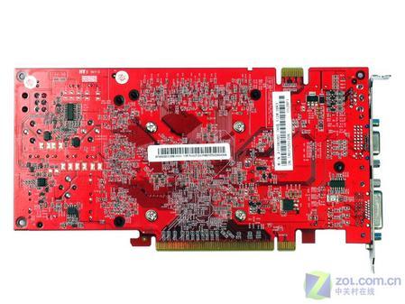 金雅福/七彩虹天行6800GS CH版512MB显卡背面(点击放大)