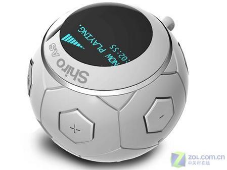 足球迷最爱 带着球型MP3看德国世界杯
