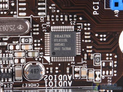 微星h55m-e33主板板载rtl8111dl千兆网卡芯片